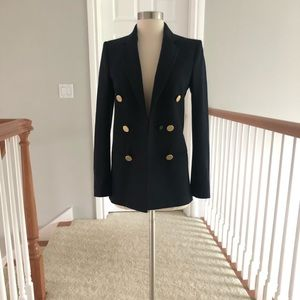 Zara studio collection navy blazer xs